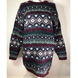 Vintage oversized mohair pullover sweater